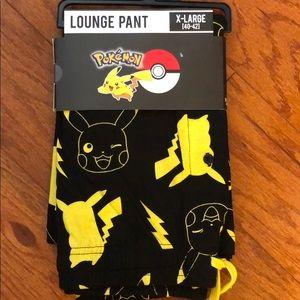 Pokémon pikachu bolt sleep pants XL pajamas pants